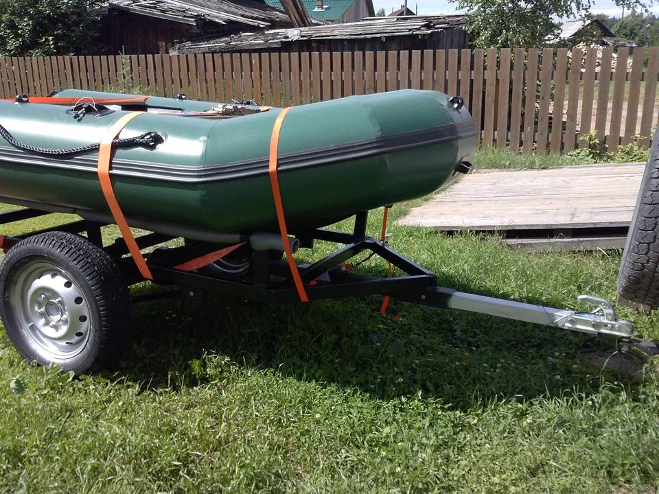 прицеп для ПВХ лодки