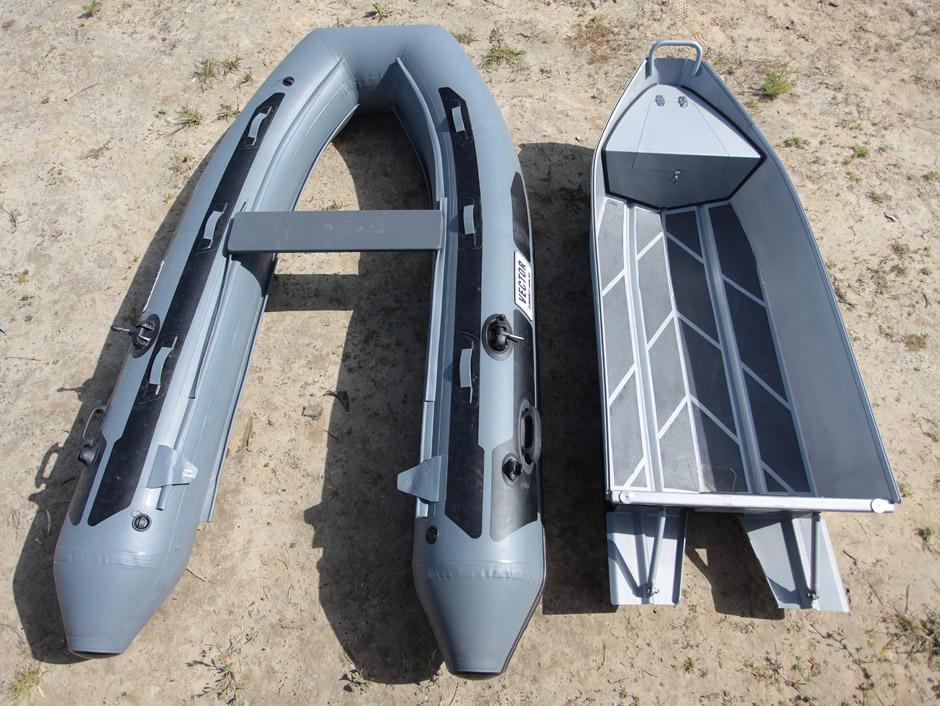 конструкция РИБ лодки