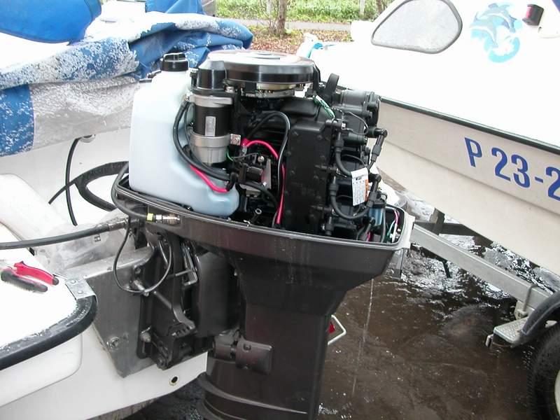мотор ПВХ лодки