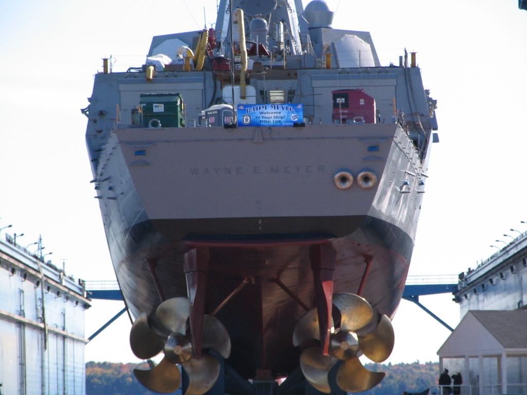 корма эсминца